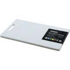Chef Inox White Polypropylene Cutting Board With Handle – 205X335X12Mm