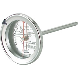 Stainless Steel Meat Thermometer - 70mm dial