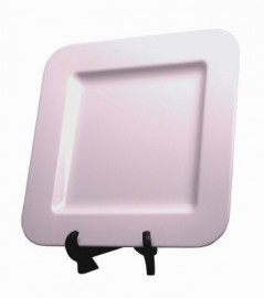 Melamine 40cm Square Plate