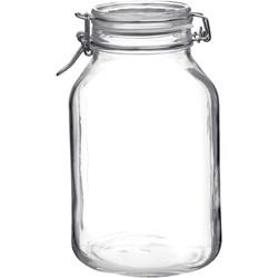 Bormioli Rocco Fido Jar With Clear Lid – 3.04Lt