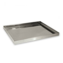 Drip Tray Stainless Steel 360 x 360 (14x14)