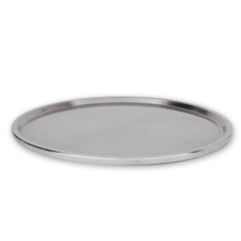 Stainless Steel Footed Cake Stand/Plate - 30cm x 3cm high