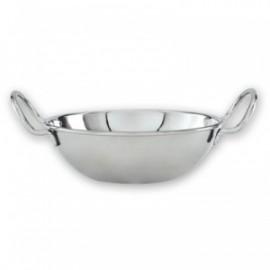 Stainless Steel Kadi Bowl/Mini Wok 13CM