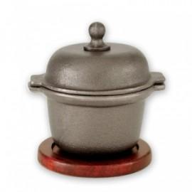 Garlic Prawn Pot Round Base