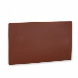Polyethylene Cutting Board - 457x305x13 - Brown
