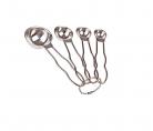 Appetito Stainless Steel Measuring Spoons - Australian Standard - set of 4