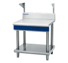 Blue Seal Evolution Series B90S-LS - 900mm Bench Top With Salamander Support Leg Stand