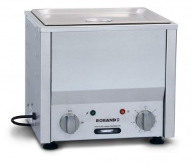 Roband BM1 - Countertop Bain Marie, fits one 1/2 size pan, pan not included