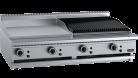 B & S (B+S) BT-GRP6-CBR6 Black Combination 600mm Grill Plate & 600 mm Grill Plate