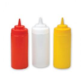 Plastic Squeeze Bottle 700ml - Clear