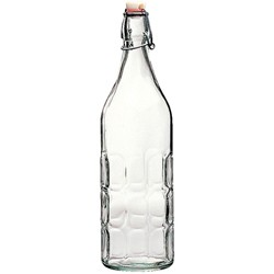 Panelled Swing Top Bottle - 1 Litre