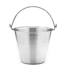 Stainless Steel Bucket - 13 Litre