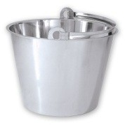 Bucket - Heavy Duty Stainless Steel 15 Litres