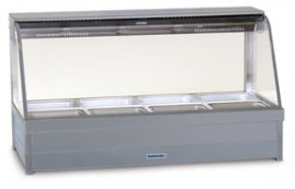 Roband C24 - Curved Glass Hot Foodbar