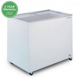 Bromic CF0300FTFG Flat Glass Top 296L Chest Freezer