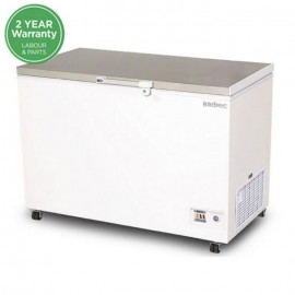 Bromic CF0300FTSS Flat Top Stainless Steel 296L Chest Freezer