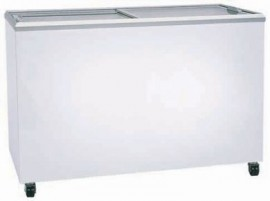 Bromic CF0400FTFG Flat Glass Top 401L Display Chest Freezer