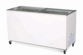 Bromic CF0500FTFG Flat Glass Top 491L Display Chest Freezer