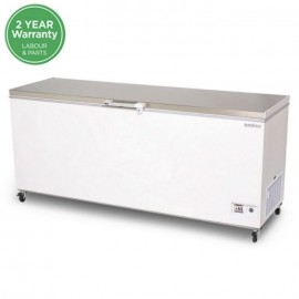 Bromic CF0700FTSS Flat Top Stainless Steel 675L Chest Freezer