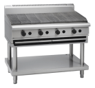Waldorf 800 Series CHL8120G-B - 1200mm Gas Chargrill Low Back Version Bench Model