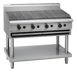 Waldorf 800 Series CH8120G-LS - 1200mm Gas Chargrill Leg Stand