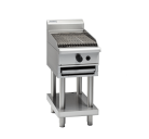 Waldorf 800 Series CHL8600G-CB - 600mm Gas Chargrill Low Back Version - Cabinet Base