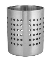 Stainless Steel Utensil Canister - 120mm diameter