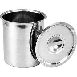 Stainless Steel Cover/Lid to suit 4 Litre Canister