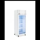 Williams HD1GS Diamond Star - One Door Stainless Steel Upright Display Refrigerator