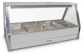 Roband E22RD - Straight Glass Hot Foodbar