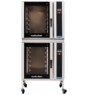 Turbofan E35T6-30/2 - Full Size Electric Convection Oven Touch Screen Control with Adjustable Feet Base Stand Double Stacked