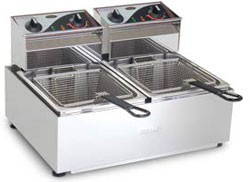 Roband F25 - Twin Pan Fryer