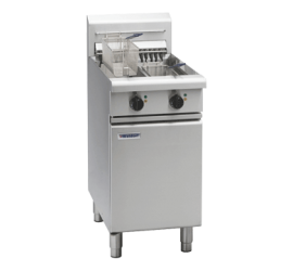 Waldorf 800 Series FNL8224E - 450mm Electric Fryer Low Back Version