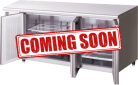 Hoshizaki FTC-180SNA-ML Three Door Pillarless Stainless Steel Counter Freezer - 398L