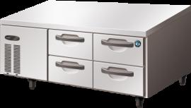 Hoshizaki FTL-140DDAC Four Drawer Stainless Steel Counter Freezer