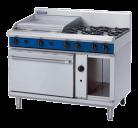 Blue Seal Evolution Series G508B - 1200mm Gas Range Static Oven