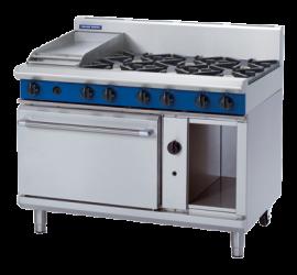 Blue Seal Evolution Series G508C - 1200mm Gas Range Static Oven