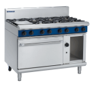 Blue Seal Evolution Series G508D - 1200mm Gas Range Static Oven