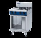 Blue Seal Evolution Series G514C-CB - 600mm Gas Cooktop - Cabinet Base