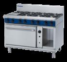 Blue Seal Evolution Series G58D - 1200mm Gas Range Convection Oven