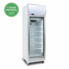 Bromic GD0500LF 444L LED Single Flat Glass Door Display Refrigerator