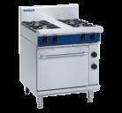Blue Seal Evolution Series GE505C - 750mm Gas Range Electric Static Oven