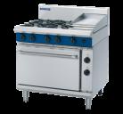 Blue Seal Evolution Series GE506C - 900mm Gas Range Electric Static Oven