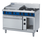 Blue Seal Evolution Series GE508B - 1200mm Gas Range Electric Static Oven