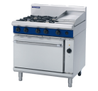 Blue Seal Evolution Series GE56C - 900mm Gas Range Electric Convection Oven