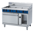 Blue Seal Evolution Series GE58A - 1200mm Gas Range Electric Convection Oven