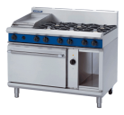Blue Seal Evolution Series GE58C - 1200mm Gas Range Electric Convection Oven