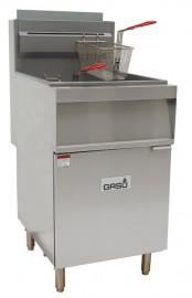 GASU GF150 wide body gas fryer