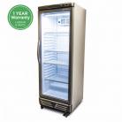 Bromic GM0300 LED ECO 290L LED Single Flat Glass Door Display Refrigerator
