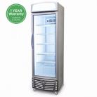 Bromic GM0440L LED 438L LED Single Flat Glass Door Display Refrigerator